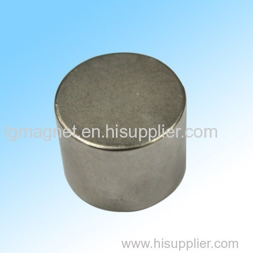 Sintered cylinder Ndfeb magnet for speaker