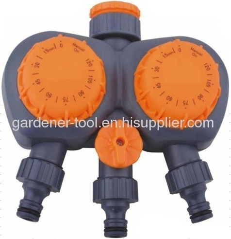 Plastic 3-way garden water controllor