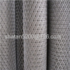 diamond hole pvc coated expanded wire mesh