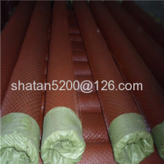 Yellow color /spray paint expanded metal mesh/expanded wire mesh(factory)