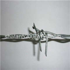 ISO Plastic coated & Galvanized Barbed Wire