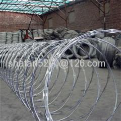 galvanized concertina razor barbed wire(BTO)