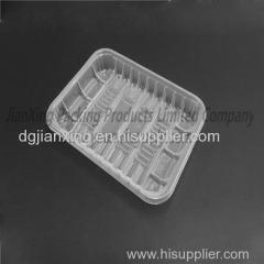 Disposable plastic wholesale pp transparent food container or transparent fast food container