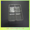 disposable 4-compartment food container