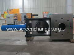 Plate type hydraulic screen changer DHB-330