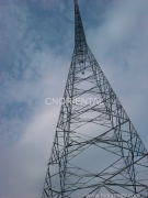 overhead tension stringing in Ningbo by Nation Grid