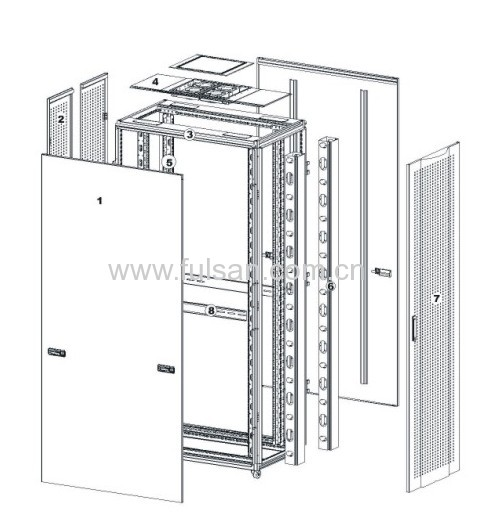 19Stand Server Cabinets