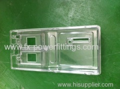 plastic injection electricity meter box shell PP PA PC PE