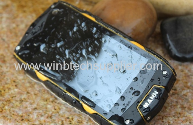Mann ZUG3 A18 Qualcomm ip68 Waterproof phone Dustproof Shockproof Android rugged smartphone GPS AGM V5 Runbo Russian