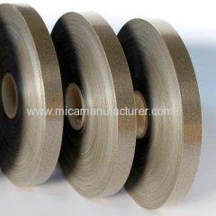 phlogopite mica tape with sigle fiberglass backed