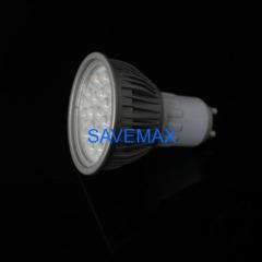 4W GU10 60 degree SMD LED spotlight bulb
