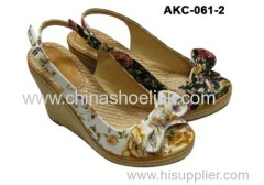 Espadryle style lady canvas shoes