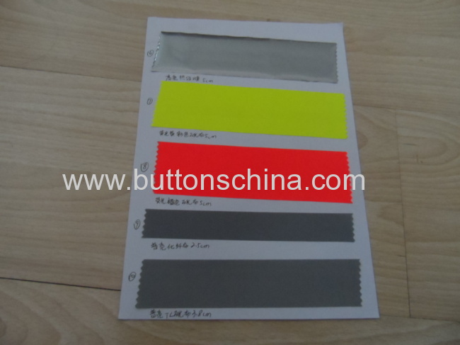 Ordinary reflective polyester tape