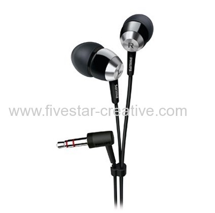 Philips SHE7000BK/28 Extra Bass Stereo In-Ear Headphones Earphones for MP3 MP4 iPhone iPad iPod Black