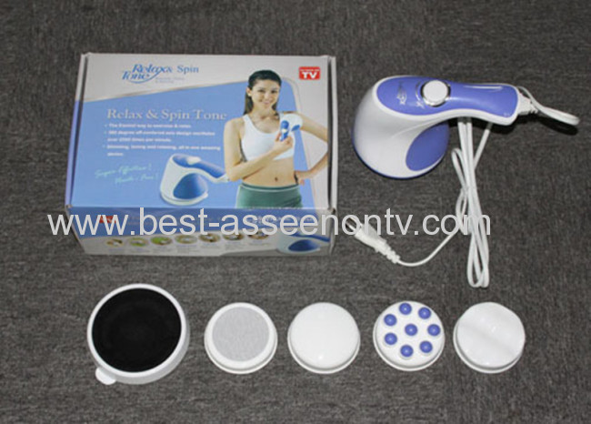 New Relax Spin&Tone Body Massager Fat Remove Relax Slim Machine