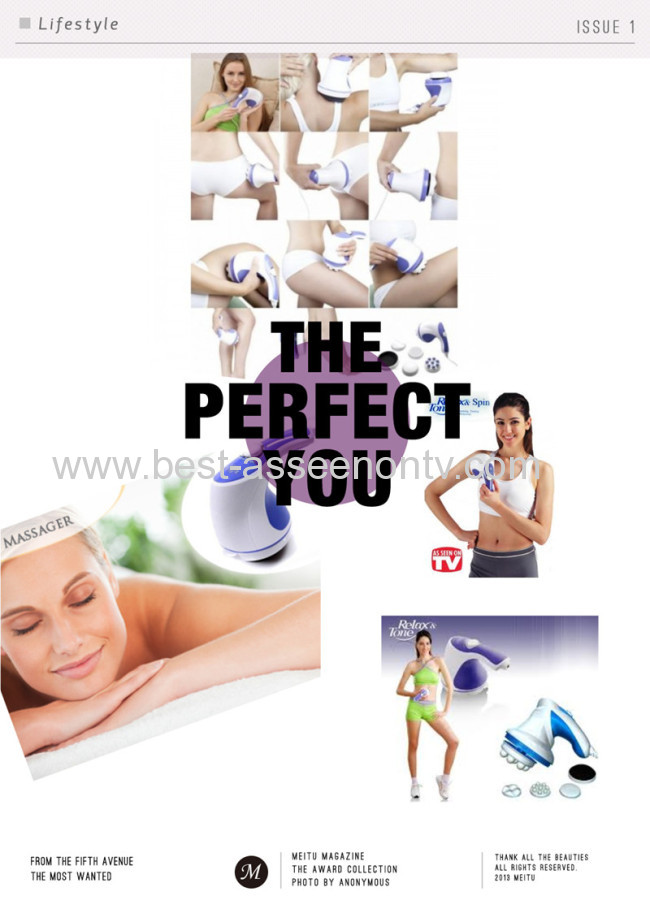 relax and tone body massager weight loss supplements