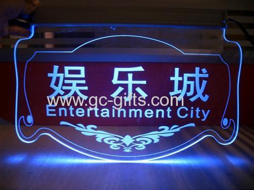 Acrylic Entertainment city billboard