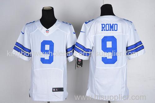 finest selection 029de 2ade8 NFL Tony Romo 9# Dallas Cowboys Game Jersey - White/Blue 9 ...