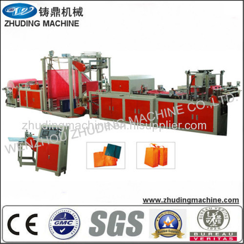 non woven box type bag making machine