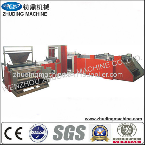 non woven bag cutting and sewing machine non woven rice bag making machine