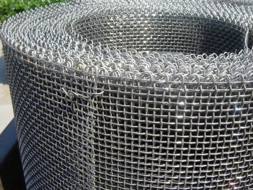 Ss stainless steel plain weave industrial grade square