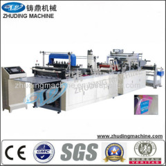 non woven zip bag making machine