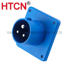 industrial cee flanged inlet cee plug 16a