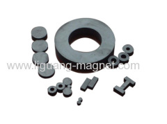 permanet speaker ferrite magnets with ring shape