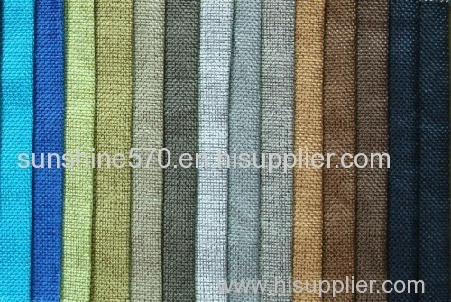 Linen Looks Sofa Fabric Curtain Upholstery Polylinen