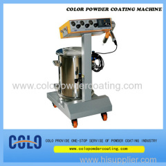 Best powder coating machine
