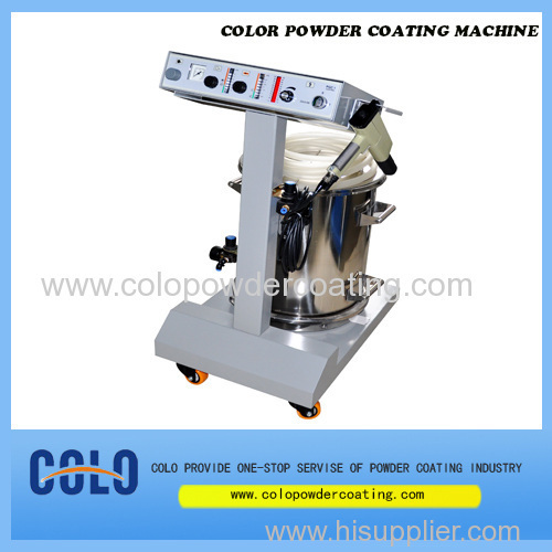 Turn-Key Powder coating Machine