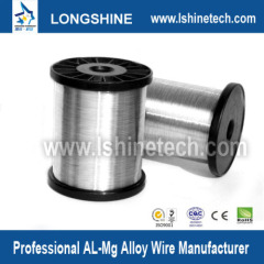 Al-mg alloy wire for cable shielding
