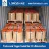 Copper coated steel wire for cable inner conductor /CCS/copper clad steel wire