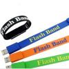 Warm-welcome bracelet usb flash wristband usb