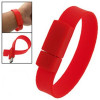 silicone wristband usb with best price 4gb