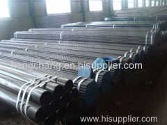 Seamless carbon steel tube for high-temperature service