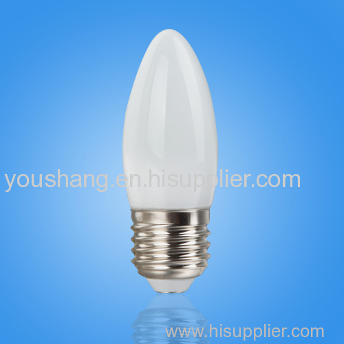 B35 3W SMD 8PCS E27 LED BULB GLASS COVER