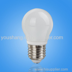 P45 E27 4W SMD 12PCS LED BULB GLASS COVER