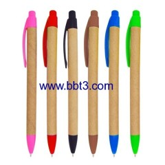 eco paper promotional ball pen