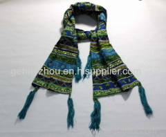 Beaded scarf with cheap price