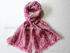 100% viscose scarf low price