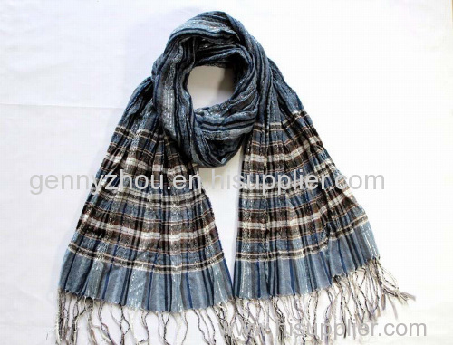 100% polyester scarf with competitive price