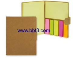 Recycle eco sticky notes set