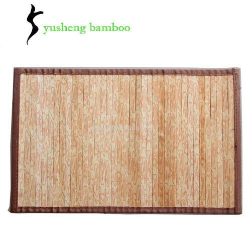 Printed Bamboo Rug Design