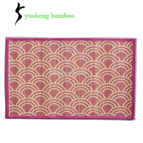 Custom Restaurant Bamboo Placemat