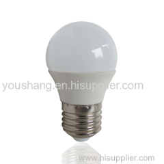 G45 E27 5W Aluminum and plastic LED BULB