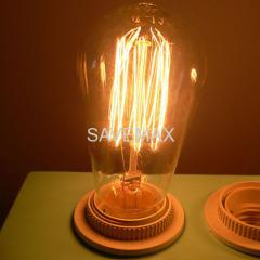 ST58 Squirrel Cage edison light bulbs