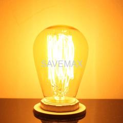 ST45 Nostalgic glow antique style bulbs
