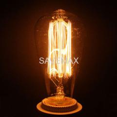 ST64 edison style light bulbs