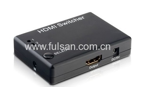 Mini 3x1 HDMI Switcher